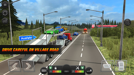 Truck Simulator Transporter Game - Extreme Driving