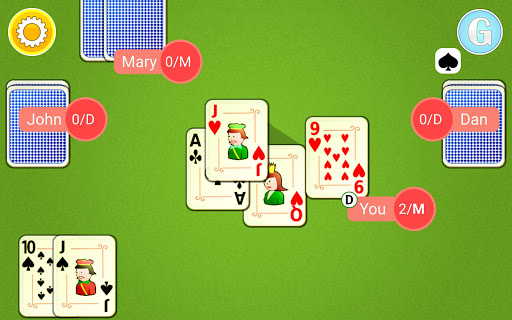 Euchre Mobile android2mod screenshots 8