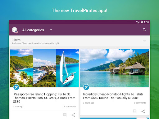 TravelPirates Top Travel Deals 3.2.6 Screenshots 6