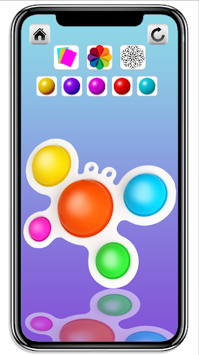 DIY Simple Dimple Pop It Fidget Toys Calming Games  screenshots 3