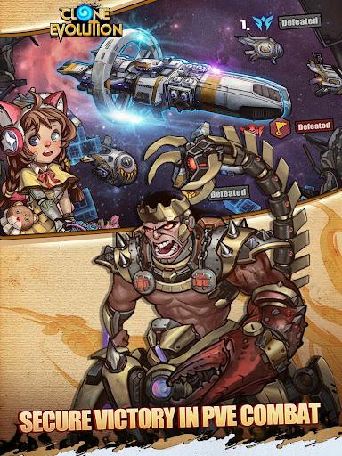 Clone Evolution: Cyber War-Borderlands Fantasy  screenshots 8
