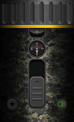 Military Flashlight Free android2mod screenshots 13