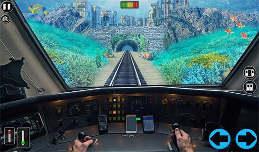 Underwater Bullet Train Simulator : Train Games screenshots 10
