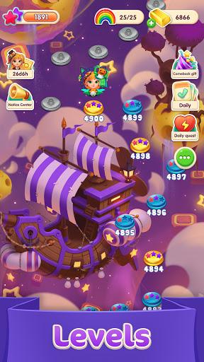 Jellipop Match-Decorate your dream island! screenshots 3