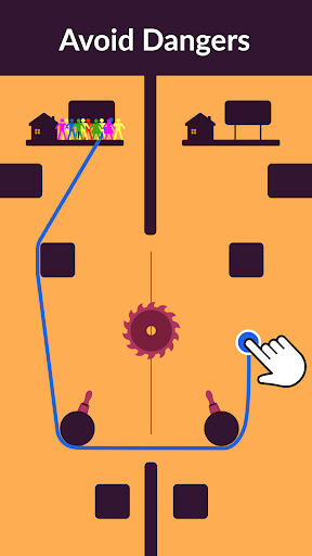 Zipline Valley - Physics Puzzle Game 1.9.1 screenshots 5
