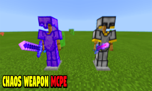 Chaos Weapon for Minecraft PE Hack Cheats (iOS & Android) 1