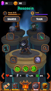 Dungeon: Age of Heroes MOD APK 1.9.417 (Unlimited Money) 10