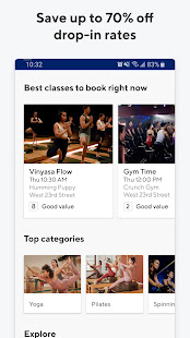 ClassPass: Try Fitness - Boxing, Yoga, Spin & More