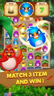 Bird Mania - Free Match 3