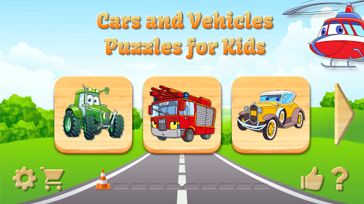 Car Puzzles for Toddlers screenshots 14