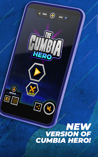 Guitar Cumbia Hero - Rhythm Music Game  screenshots 1