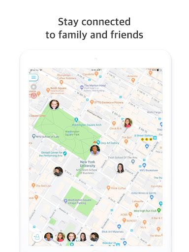 iSharing - GPS Location Tracker for Family android2mod screenshots 8