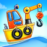 Game Island. Kids Games for Boys. Build House