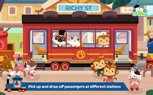 Dr. Panda Train Screenshot