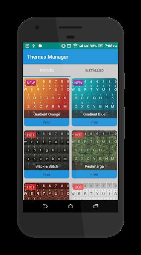 KurdKey Keyboard + Emoji 4.4.0 Screenshots 5