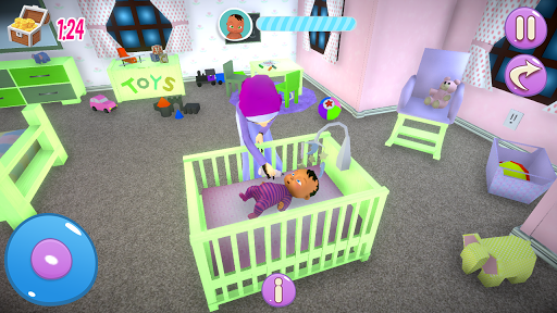 Real Mother Baby Games 3D: Virtual Family Sim 2019 apkmr screenshots 5