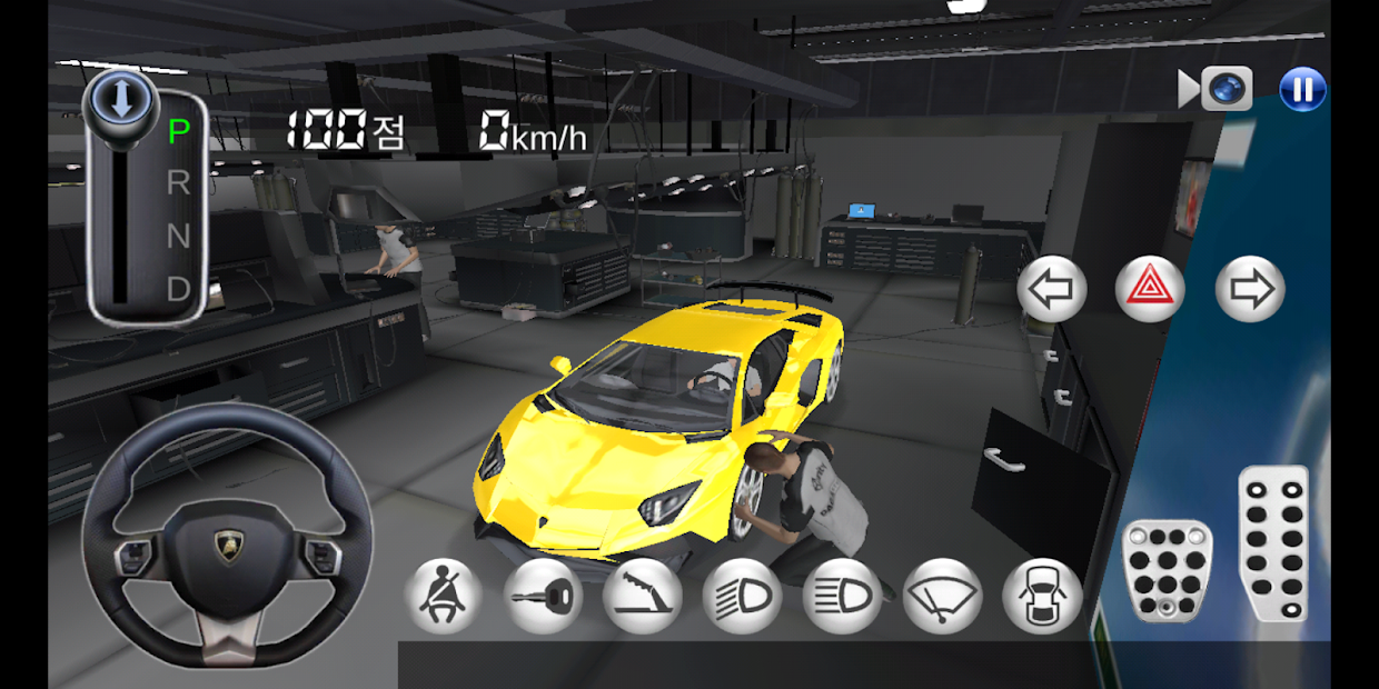 3D Driving Class Android App Screenshot