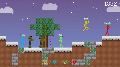 Stickman vs Multicraft: Survival Craft Pocket  screenshots 7