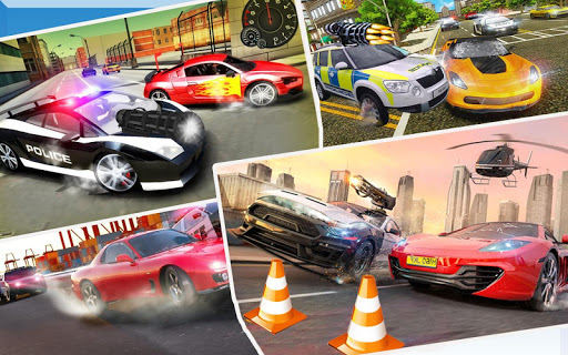 Police Chase vs Thief: Police Car Chase Game  screenshots 10