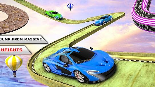 Superhero Car Stunts Car Games 3