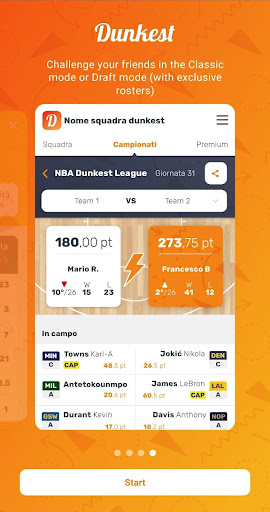 Dunkest - Fantasy Basketball android2mod screenshots 5