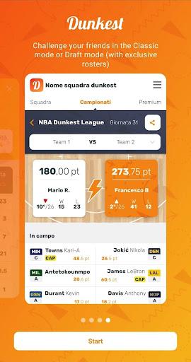 Dunkest - Fantasy Basketball 2.3.10 screenshots 5