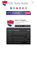 CDL Study Buddy screenshot thumbnail