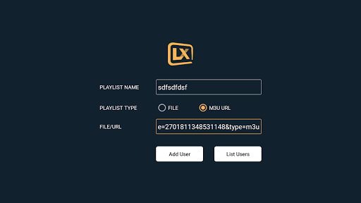 Lxtream Player 1.2.6 Screenshots 24