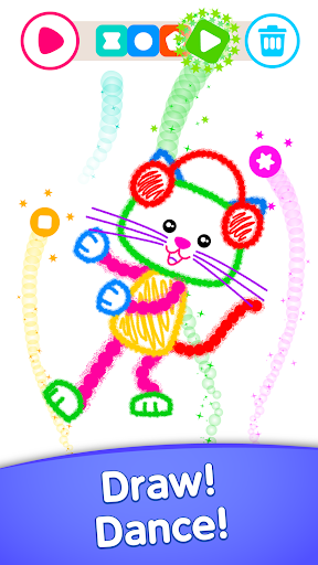 Toddler coloring apps for kids! Drawing games! screenshots 14