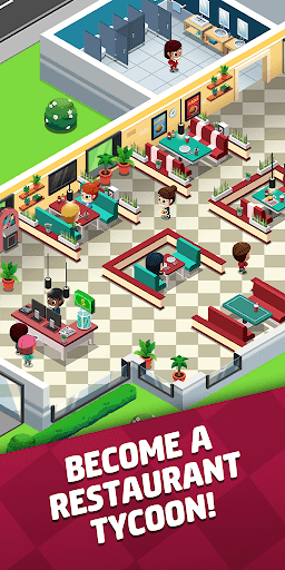 Idle Restaurant Tycoon - Build a restaurant empire apklade screenshots 1