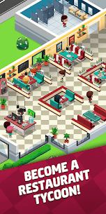 Idle Restaurant Tycoon Mod Apk 1.17.5 (Unlimited Money/Diamonds) 1
