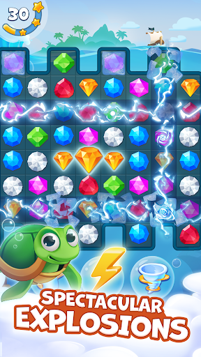 Pirate Treasures - Gems Puzzle 2.0.0.97 screenshots 5