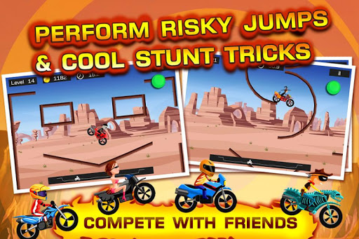 Top Bike - best physics bike stunt racing game 5.09.67 screenshots 1