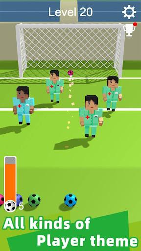 Straight Strike - 3D soccer shot game screenshots 3