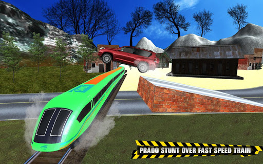 Train vs Prado Racing 3D: Advance Racing Revival modavailable screenshots 3