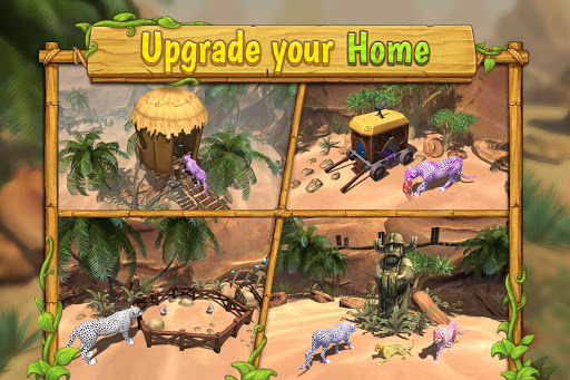 Cheetah Family Sim - Animal Simulator apktram screenshots 11