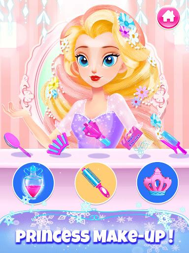 Girl Games: Princess Hair Salon Makeup Dress Up  screenshots 3