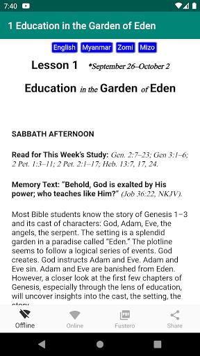 ASSL - Adult Sabbath School Lesson android2mod screenshots 2