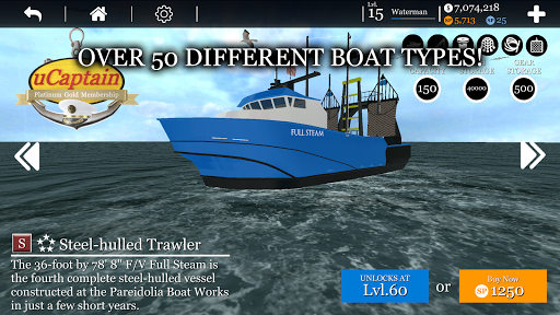Boat Game ud83cudfa3 - Ship & Fishing Simulator uCaptain u26f5 5.9 screenshots 6