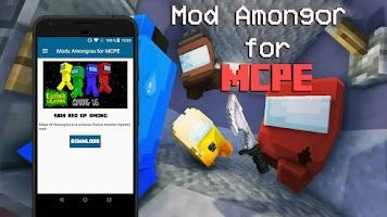 Mod for Among Us for MCPE