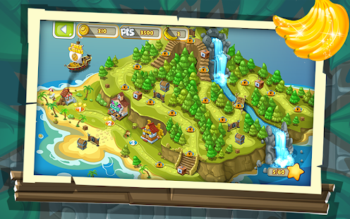 Banana Island : Bobo's Epic Tale Jungle Run Screenshot