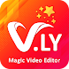 V.ly- Magic Photo To Video Status Maker
