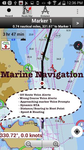 i-Boating:Marine Navigation Maps & Nautical Charts modavailable screenshots 18
