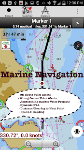 i-Boating:Lake & Marine Charts Screenshot