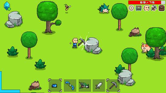 Whatcraft Pixel Games Offline Mod Apk 43 (Free Shopping) 6