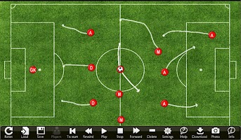 Soccer Play Designer and Coach Tactic Board