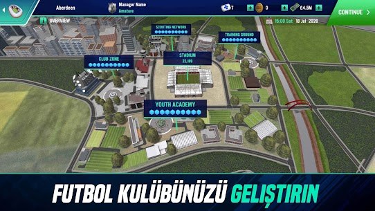 Ücretsiz Soccer Manager 2022 – Futbol Menajerlik Oyunu 5