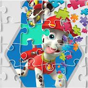 Jigsaw Pow Puzzle Patrol Game