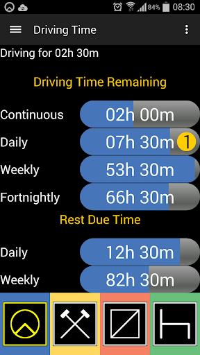 TachoGuard Driver's Tachograph  screenshots 4