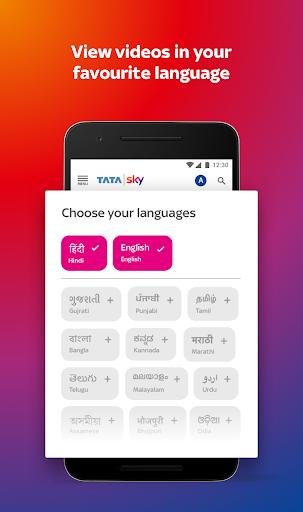 tata sky mobile- live tv, movies, sports, recharge screenshot 1